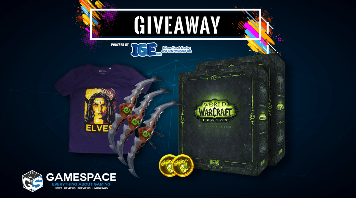 World of Warcraft Legion Collectors Edition - Giveaway